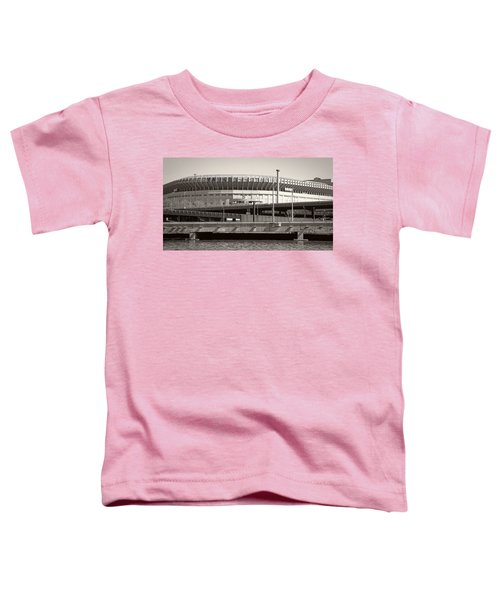 Yankee Stadium    1923  -  2008 Toddler T-Shirt by Daniel Hagerman
