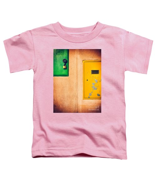 Toddler T-Shirt featuring the photograph Yellow And Green by Silvia Ganora