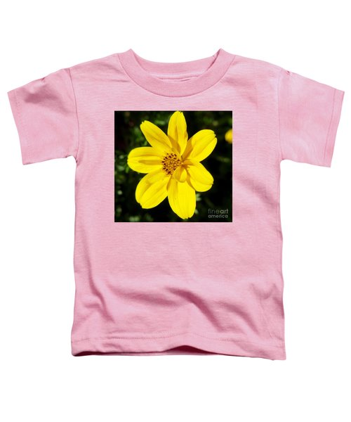 Yellow Flower Toddler T-Shirt