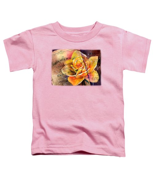 Yellow Rose Of Texas Toddler T-Shirt