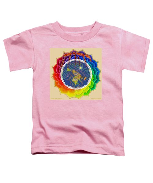 Yhwh Covers Earth Toddler T-Shirt