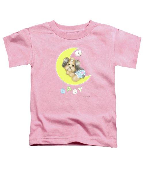 Yorkie Fofa Baby Toddler T-Shirt