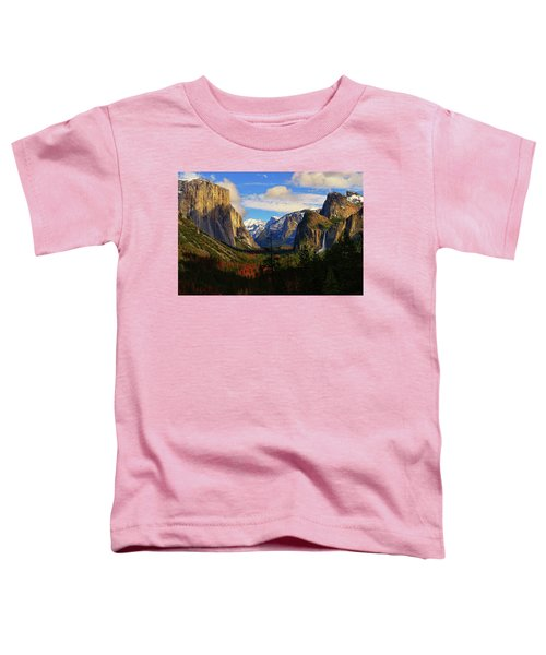 Toddler T-Shirt featuring the photograph Yosemite Valley by Greg Norrell