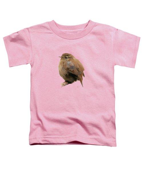 Young Female Blackbird - Turdus Merula Toddler T-Shirt by Bamalam  Photography