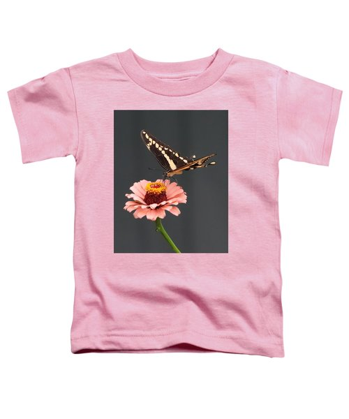 Zinnia With Butterfly 2702 Toddler T-Shirt