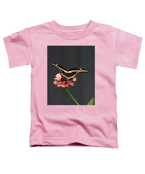 Zinnia With Butterfly 2708  Toddler T-Shirt