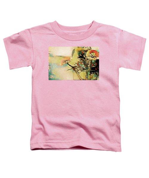Zinnias From The Garden Toddler T-Shirt