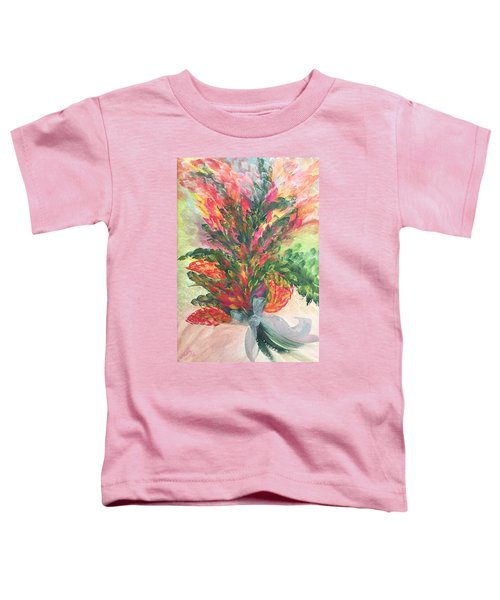 Bouquet And Ribbon Toddler T-Shirt