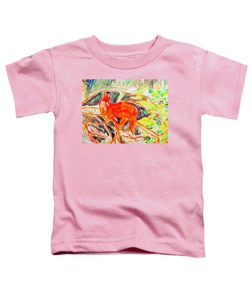 Hidden Fox Toddler T-Shirt