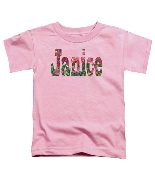 Janice Toddler T-Shirt