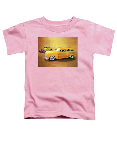 1949 Woody And 1932 Roadster Toddler T-Shirt