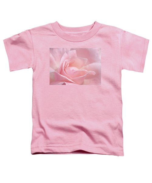 A Delicate Pink Rose Toddler T-Shirt
