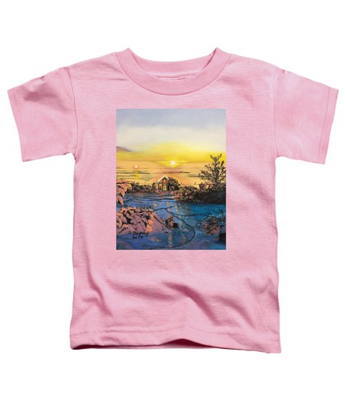 A Perfect Prairie Morning  Toddler T-Shirt