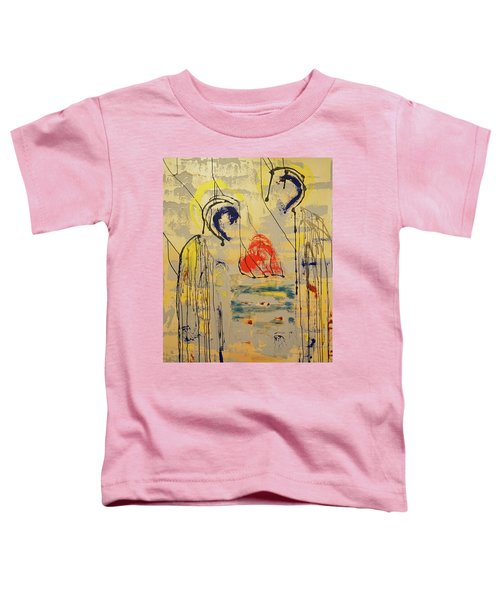 A Thousand Miles Of Sand And Sea Toddler T-Shirt