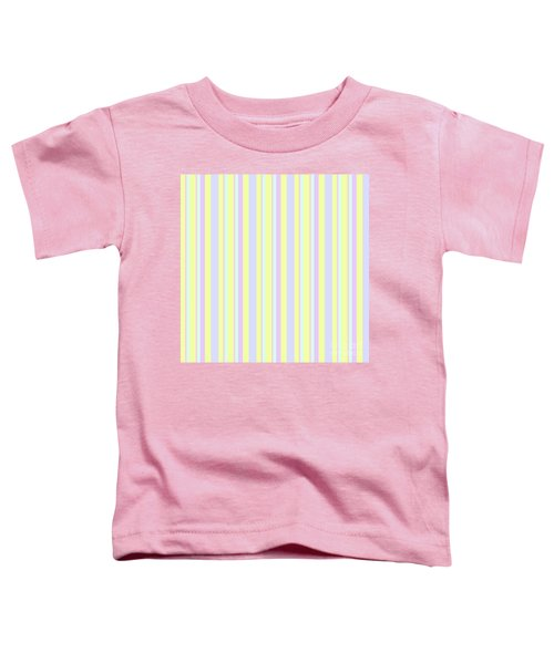 Abstract Fresh Color Lines Background - Dde595 Toddler T-Shirt