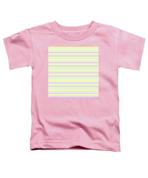 Abstract Horizontal Fresh Lines Background - Dde596 Toddler T-Shirt