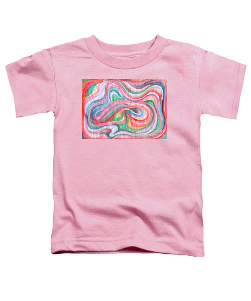 Abstraction In Spring Colors Toddler T-Shirt