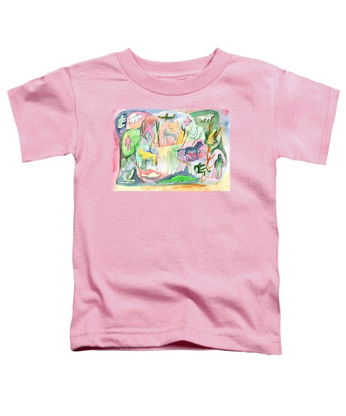 Abstraction Living World Toddler T-Shirt