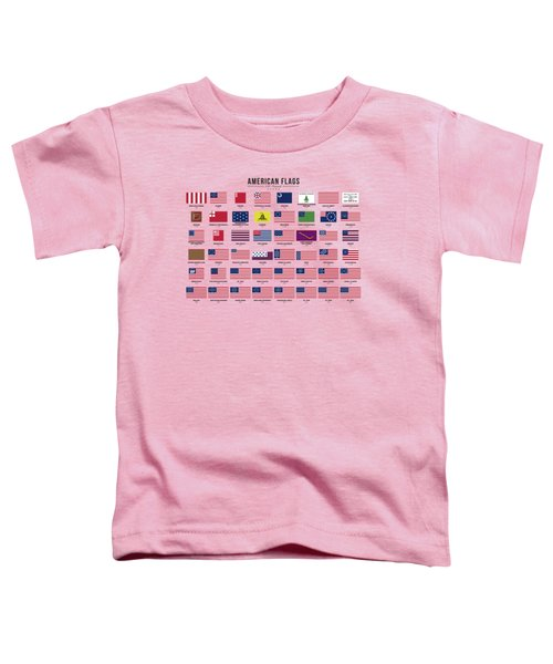American Flags Toddler T-Shirt