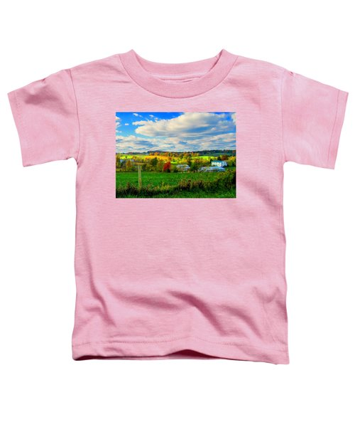Amish Farm Beauty Toddler T-Shirt