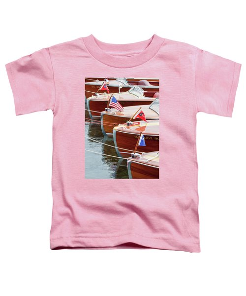 Antique Wooden Boats In A Row Portrait 1301 Toddler T-Shirt