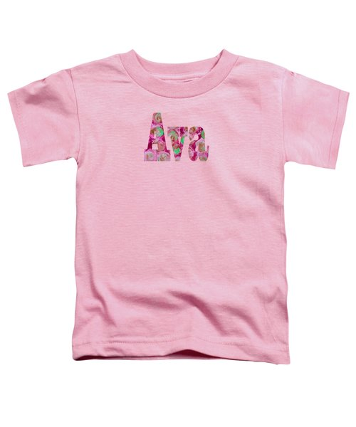 Ava Toddler T-Shirt