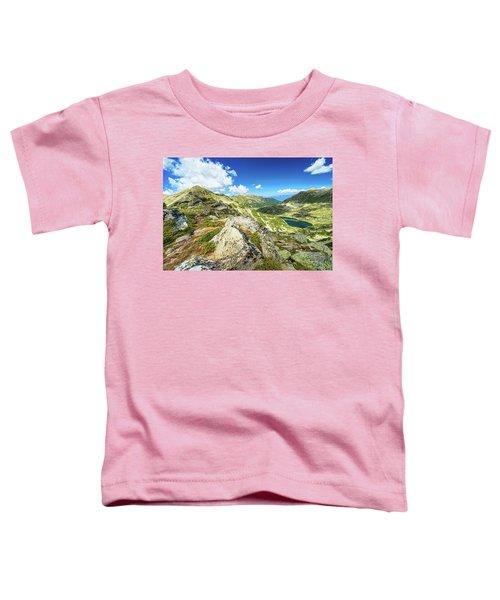 Beautiful Landscape Of Pirin Mountain Toddler T-Shirt
