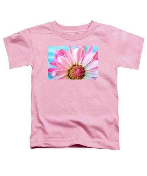 Beautiful Pink Flower Toddler T-Shirt