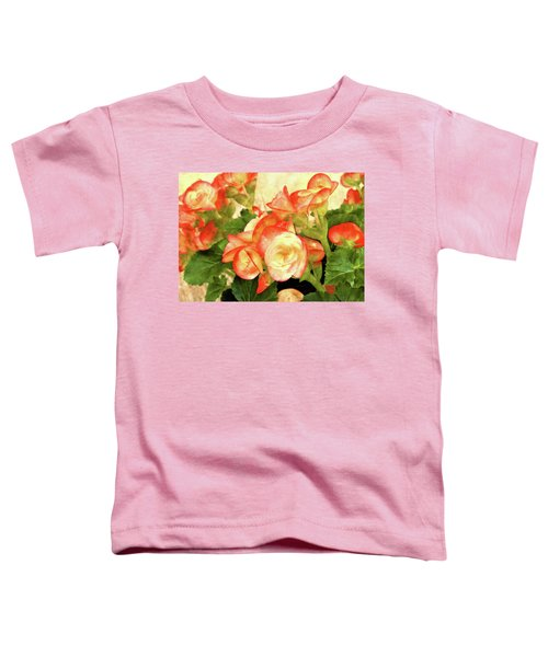 Begonia Beguiled Toddler T-Shirt