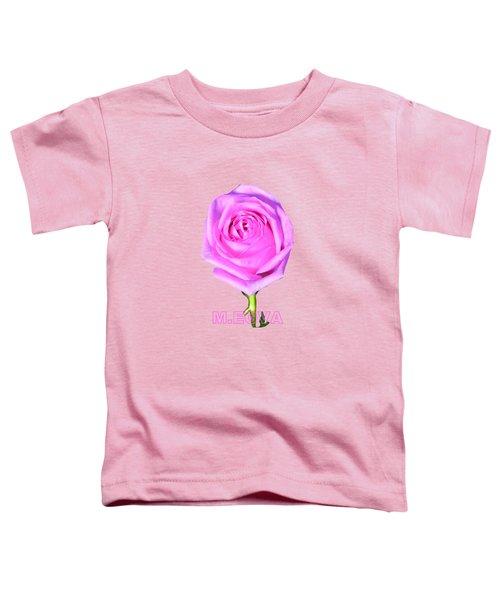 Belle Demoiselle Rose Toddler T-Shirt