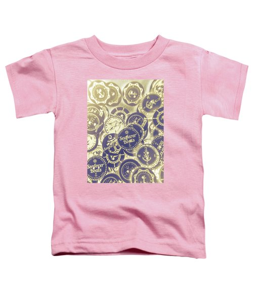 Boating Buttons Toddler T-Shirt