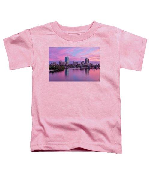 Boston Sunset Toddler T-Shirt