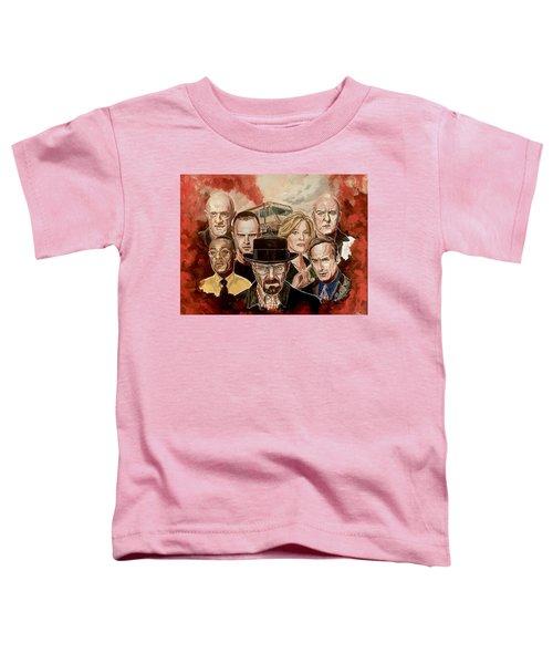 Breaking Bad Family Portrait Toddler T-Shirt
