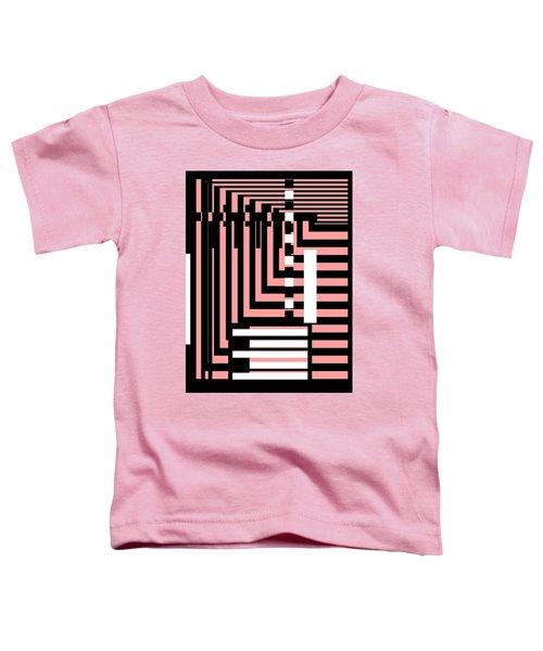 Breathtaking Linear Walls Toddler T-Shirt