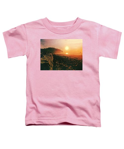 Cape Meares Beach Toddler T-Shirt