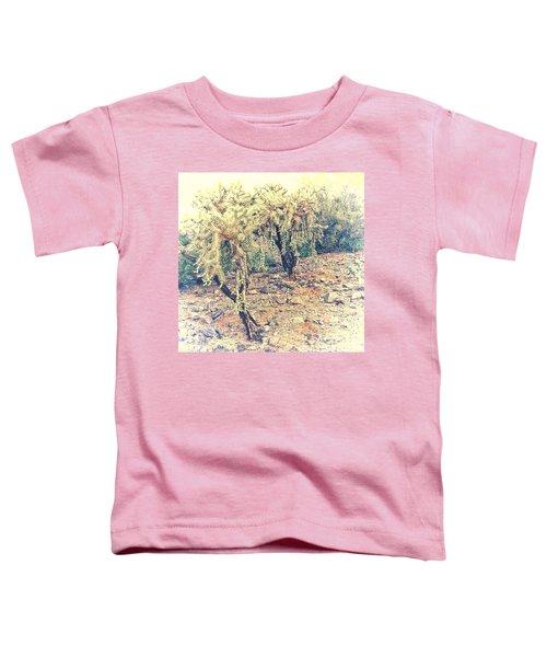 Chain Fruit Cholla Toddler T-Shirt
