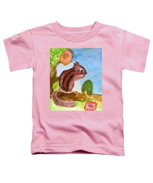 Chipmunk By Dee Toddler T-Shirt