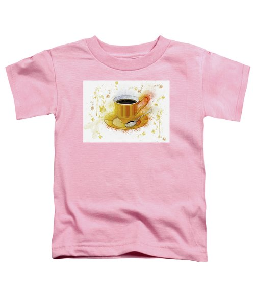 Coffee Art Toddler T-Shirt