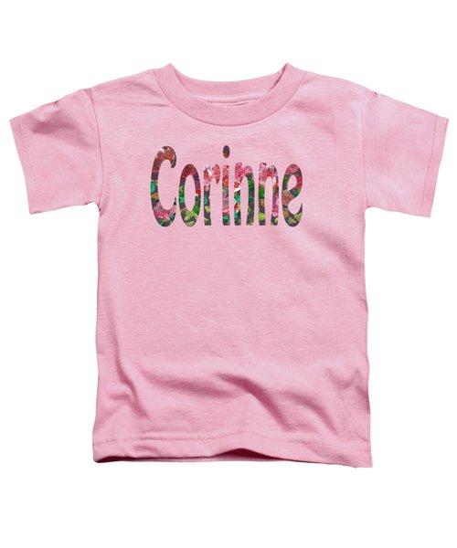 Corinne Toddler T-Shirt