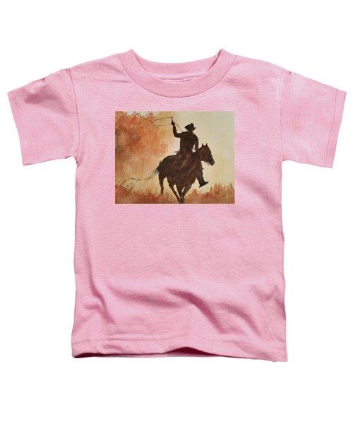 Cowboy Hero Toddler T-Shirt