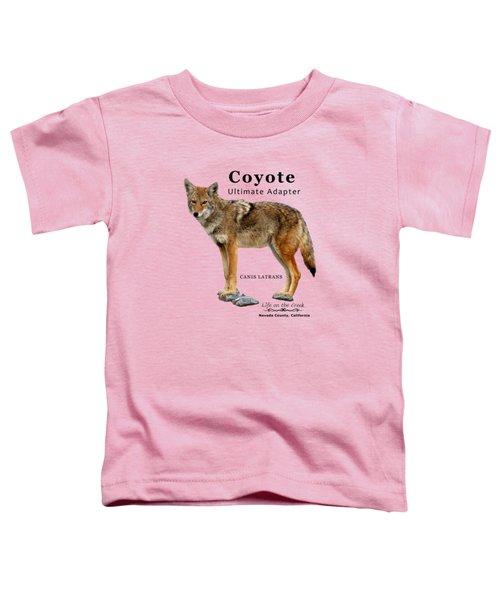 Coyote Ultimate Adaptor Toddler T-Shirt