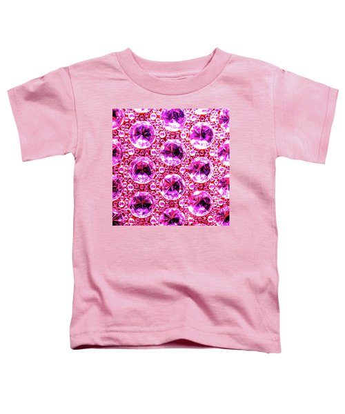 Cut Glass Beads 6 Toddler T-Shirt