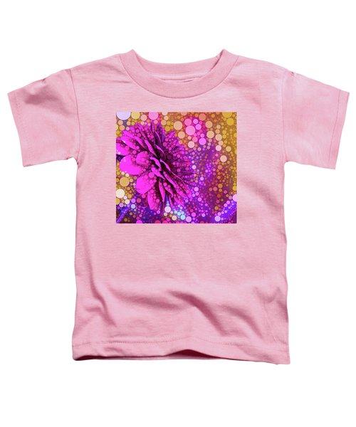 Dahlia Dots Toddler T-Shirt