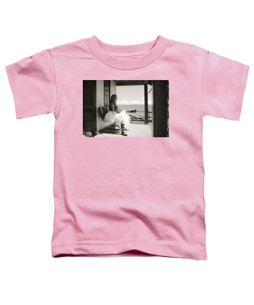 Toddler T-Shirt featuring the photograph Debutante by Carl Young
