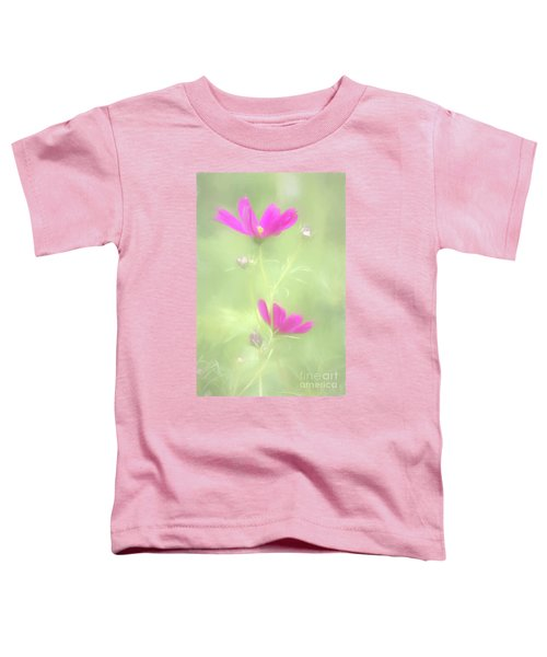 Delicate Painted Cosmos Toddler T-Shirt