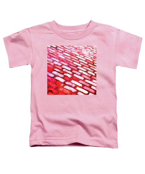 Diagonal Street Cobbles Toddler T-Shirt