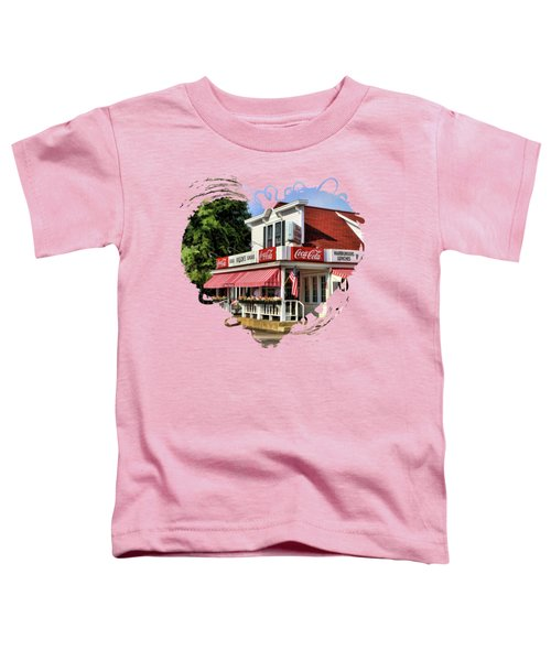 Door County Wilson's Ice Cream Store Toddler T-Shirt