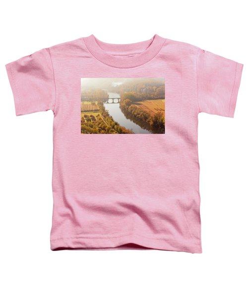 Dordogne River In The Mist Toddler T-Shirt