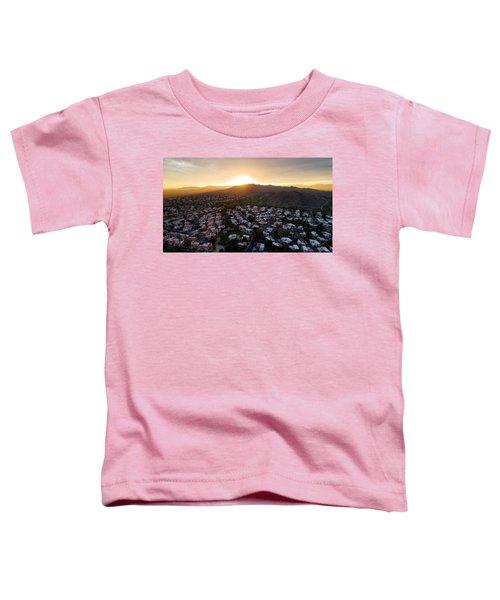 Dramatic South Mountain Sunset Toddler T-Shirt