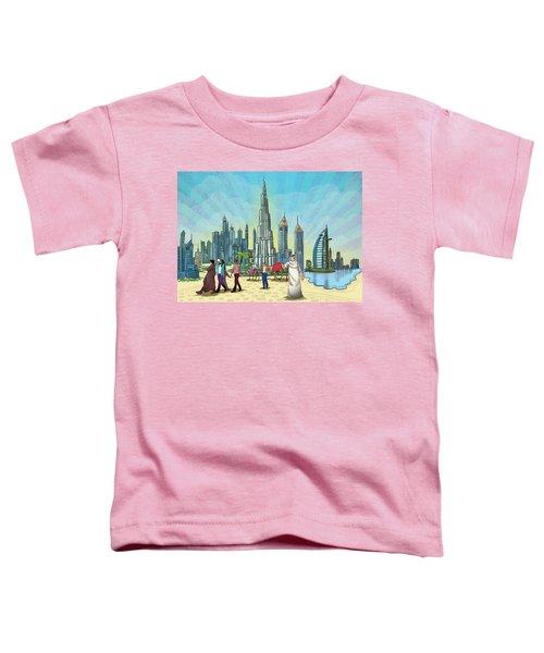 Dubai Illustration  Toddler T-Shirt